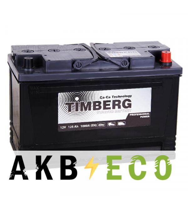 Грузовой аккумулятор Timberg PRO 125R 1000A 350x175x230