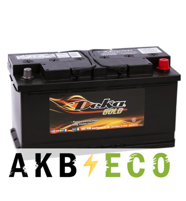 Автомобильный аккумулятор Deka 100R (649MF 900A 353x175x190)