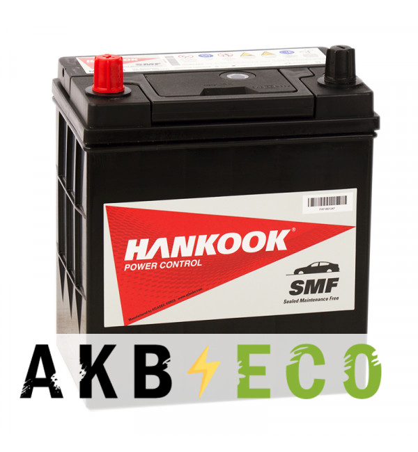 Автомобильный аккумулятор Hankook 44B19R (40L 370 187x127x227)