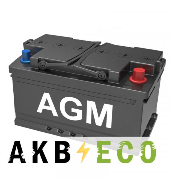 Автомобильный аккумулятор Подменный L4 AGM обр. пол. (315x175x190) 80 Ач