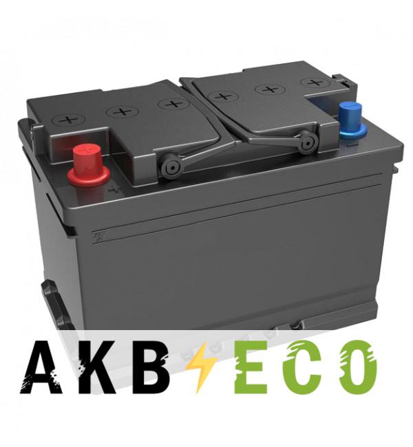 Автомобильный аккумулятор Подменный L3 прям. пол. (278x175x190) 70-75 Ач