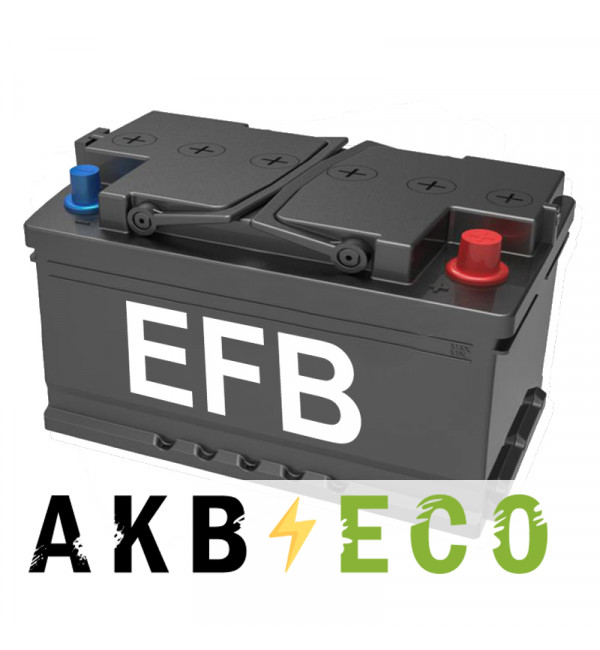 Автомобильный аккумулятор Подменный L4 EFB обр. пол. (315x175x190) 80 Ач