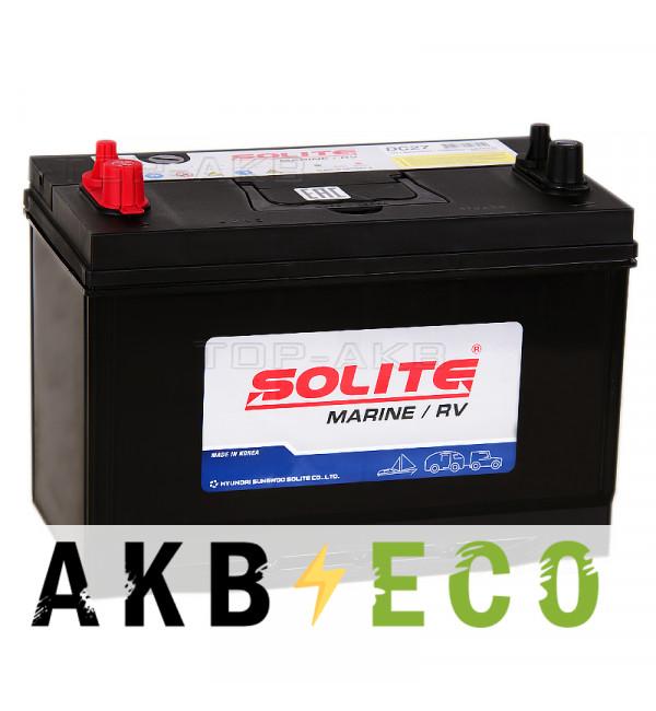 Автомобильный аккумулятор Solite MARINE DC27 (90 Ah 640A 306x173x225)