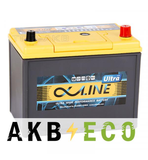 Автомобильный аккумулятор Alphaline Ultra 115D26L 88R 800A 260x173x227