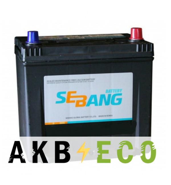 Автомобильный аккумулятор Sebang 60D20KL 55 Ач обратная пол. 480А (202x175x225)