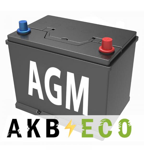 Автомобильный аккумулятор Подменный D26 AGM обр. пол. (260x173x225) 68-70 Ач