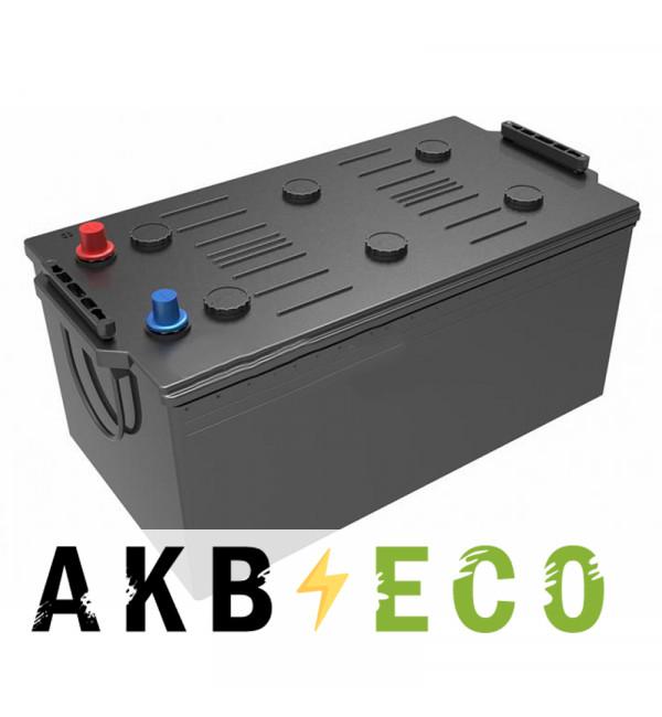 Автомобильный аккумулятор Подменный 225 Ач обр. пол. (518x276x242) плюс слева