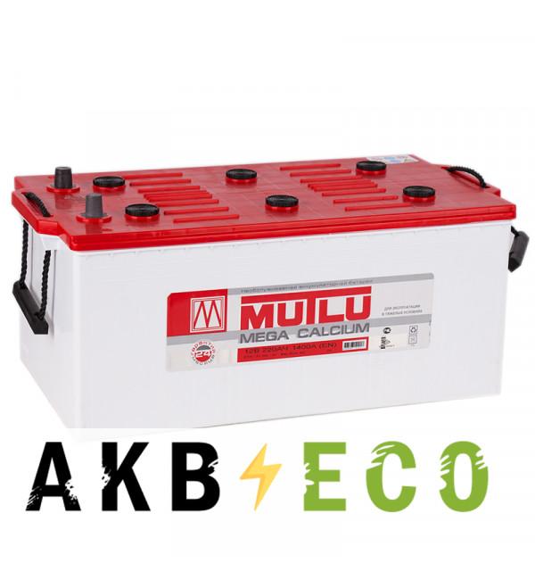 Автомобильный аккумулятор Mutlu Calcium Silver 220 евро 1300A 517х273х240