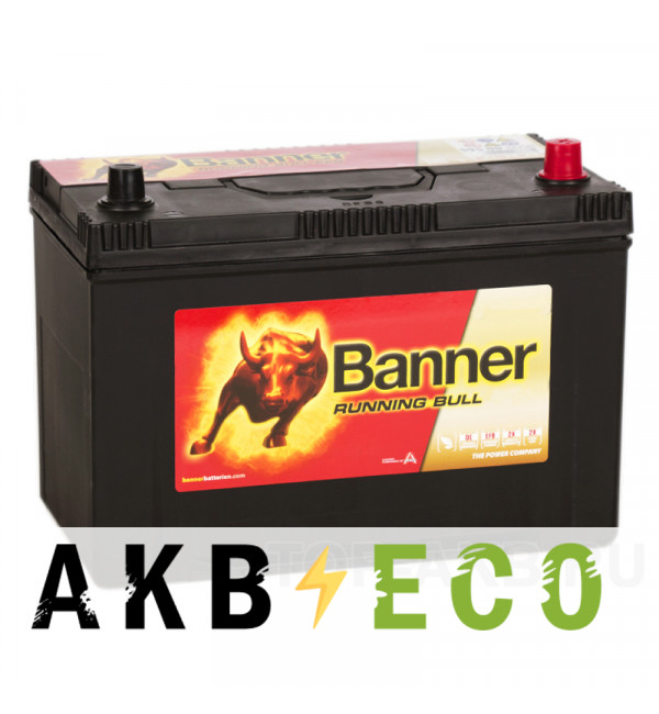 Автомобильный аккумулятор BANNER Power Bull ASIA (95 04) 95R 740A 302x173x225