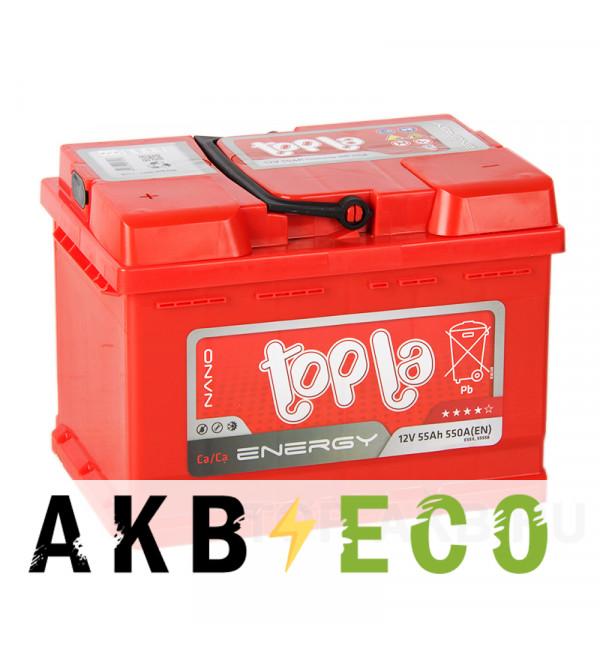 Автомобильный аккумулятор Topla Energy 55L (550A 242x175x175) 108155 55558