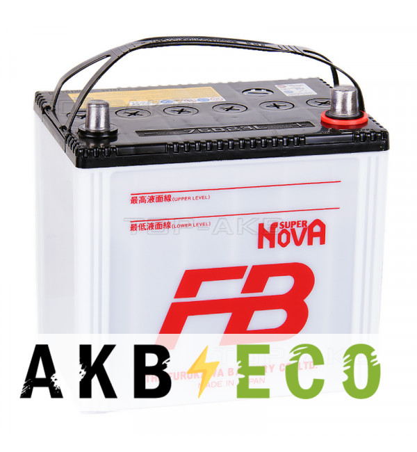 Автомобильный аккумулятор FB Super Nova 75D23L (65R 620A 230x169x225)