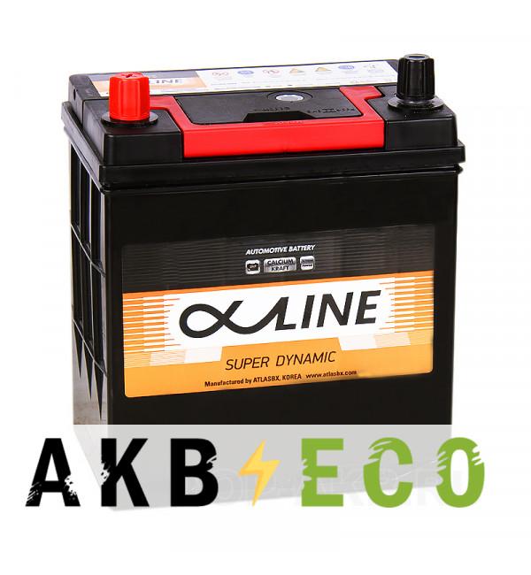 Автомобильный аккумулятор Alphaline SD 46B19R 44L 400A 186x127x220