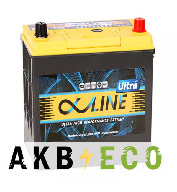 Автомобильный аккумулятор Alphaline Ultra 55B19L 50R 440A 187x127x225