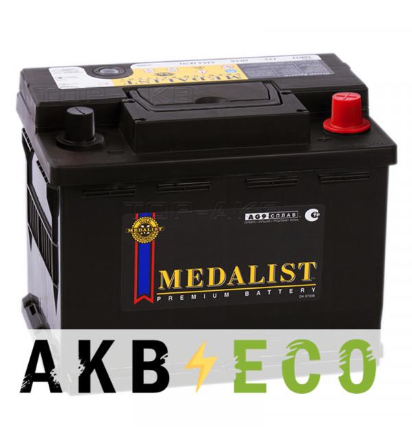 Автомобильный аккумулятор Medalist 56030 (60R 540A 244x175x190)
