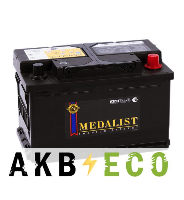 Автомобильный аккумулятор Medalist 56530 (65R 550A 279x175x175)