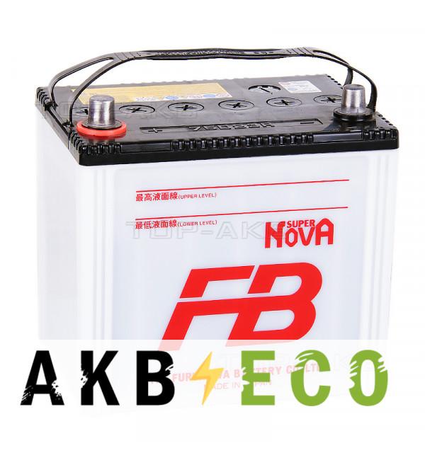 Автомобильный аккумулятор FB Super Nova 75D23R (65L 620A 230x169x225)