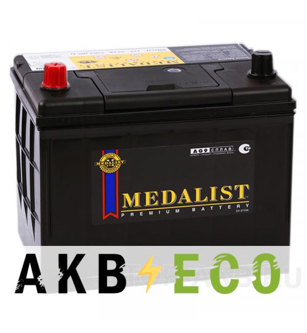 Автомобильный аккумулятор Medalist 80D26R (70L 680A 260x173x225)