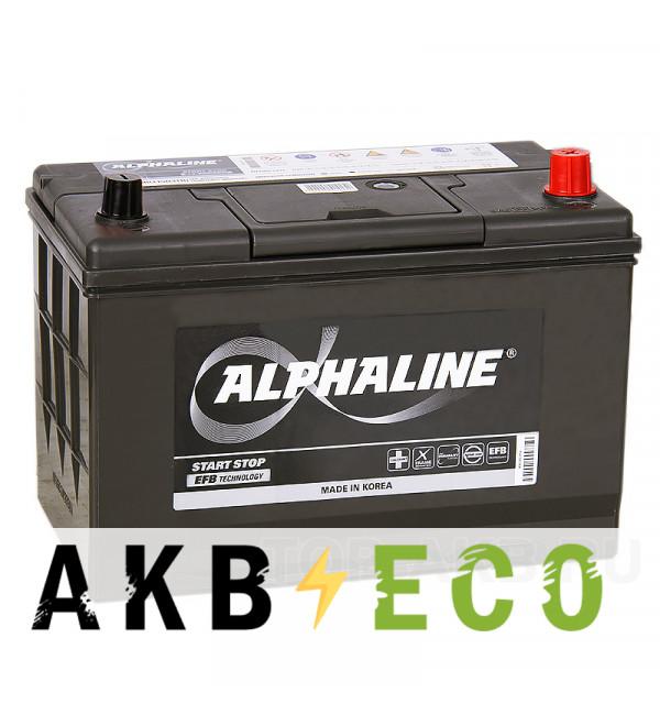 Автомобильный аккумулятор Alphaline EFB 115D31L 80R (800A 306x173x223) T110R Start-Stop