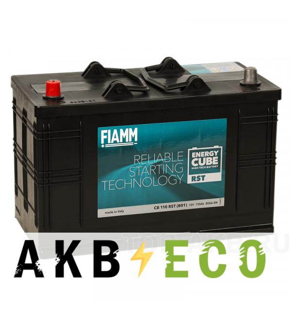 Автомобильный аккумулятор Fiamm Energy Cube 110L 850A 330x171x241