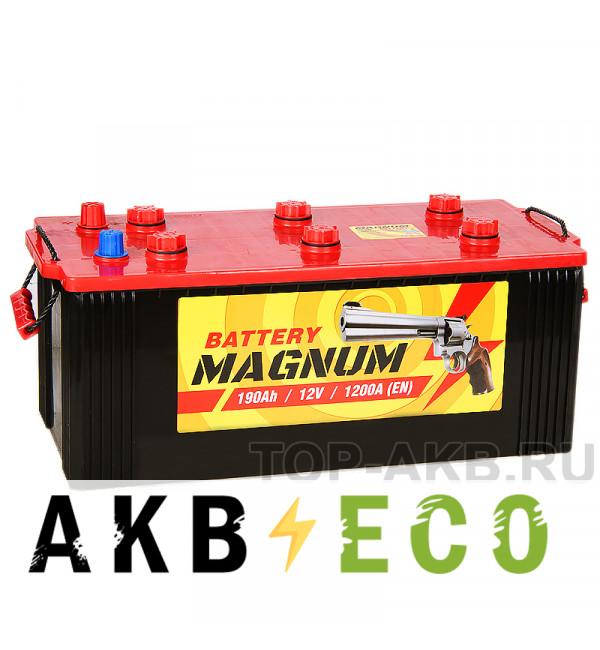 Автомобильный аккумулятор Magnum 190 евро 1150A 513x223x223