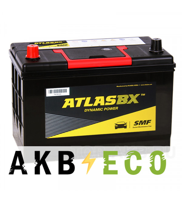 Автомобильный аккумулятор Atlas Dynamic Power MF105D31R (90L 750A 301x175x225)