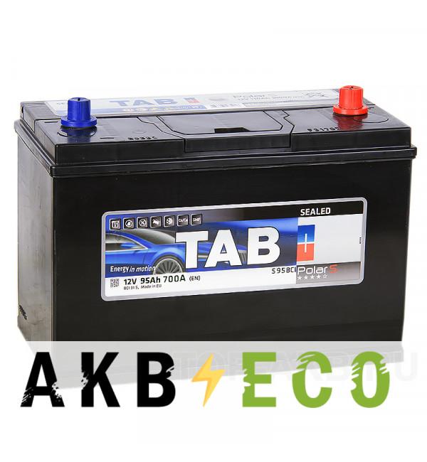 Автомобильный аккумулятор Tab Polar S95BCI конус 95R (700А 330x173x237) 246495 BCI 31 SMF