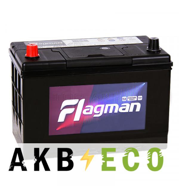Автомобильный аккумулятор Flagman 115D31R 100L 850A 302x172x220