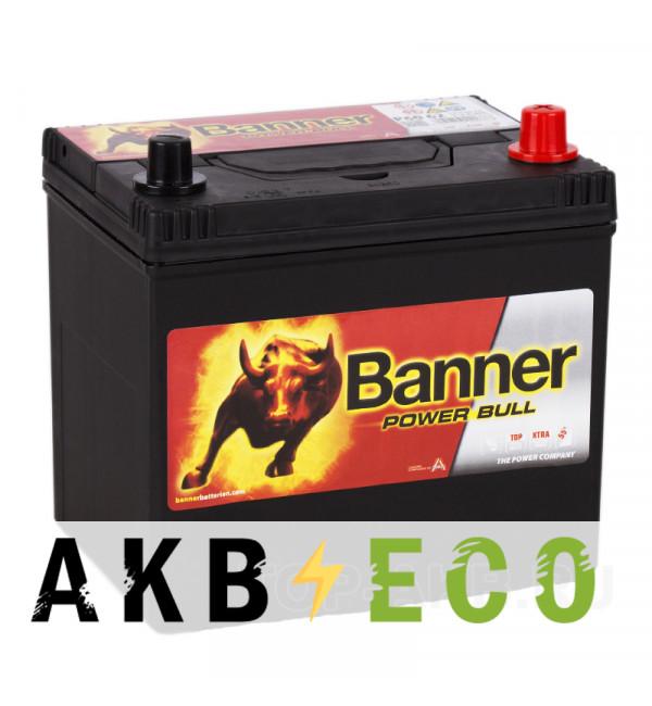 Автомобильный аккумулятор BANNER Power Bull (60 68) 60R 510A 232x173x225