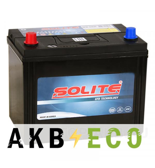Автомобильный аккумулятор Solite EFB S95R Start-Stop (80L 680A 260x173x225)