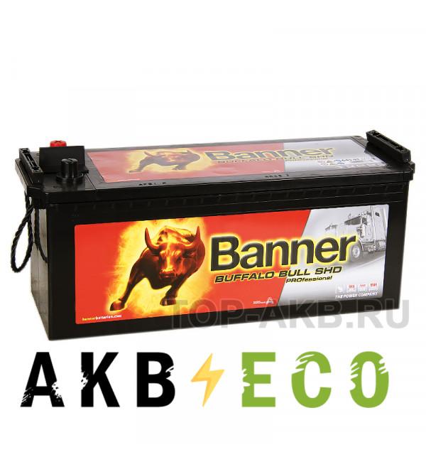 Автомобильный аккумулятор BANNER Buffalo Bull SHD PROfessional (645 03) 145 евро 800A 513x189x223