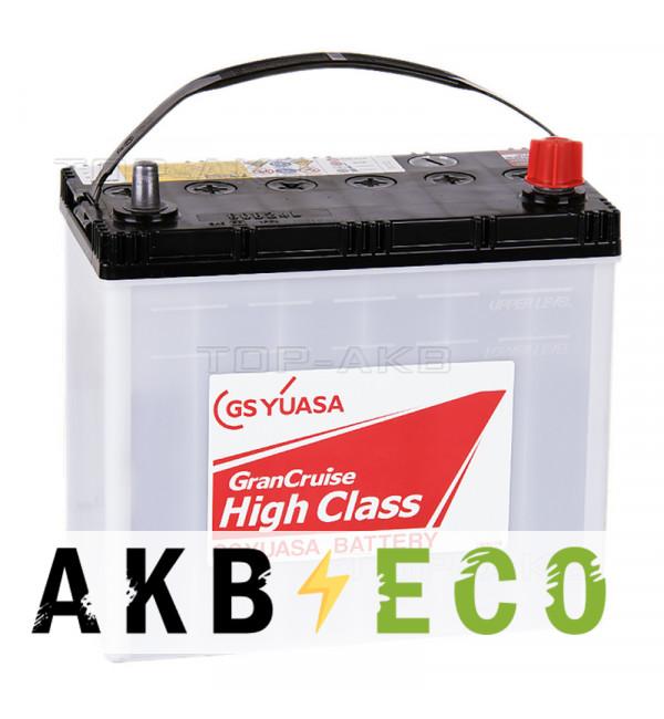 Автомобильный аккумулятор GS Yuasa GHC-60B24L (45R 490A 238x128x227) GranCruise High Class