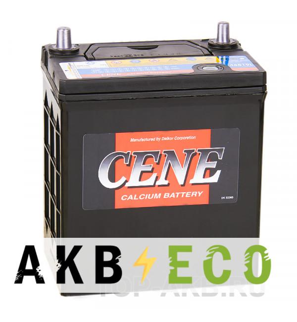 Автомобильный аккумулятор Cene 46B19L (44R 390A 187x127x227)