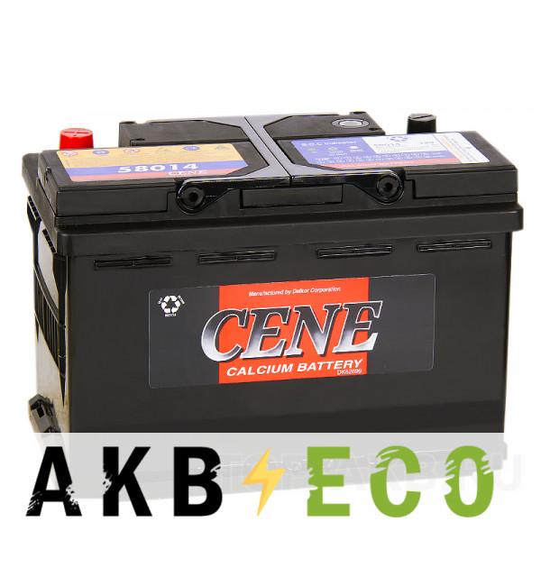 Автомобильный аккумулятор Cene 58014 (80R 780A 278x175x190)