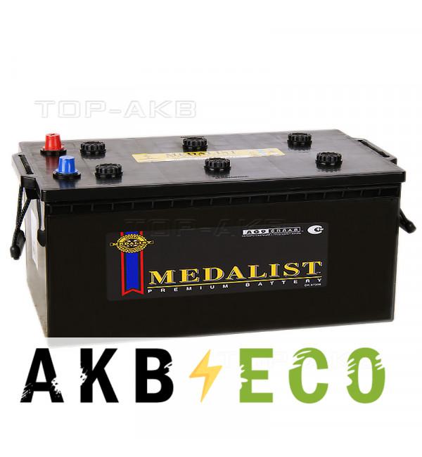 Автомобильный аккумулятор Medalist 72518 (225 Ач обр. пол. 1300А 518x276x242)