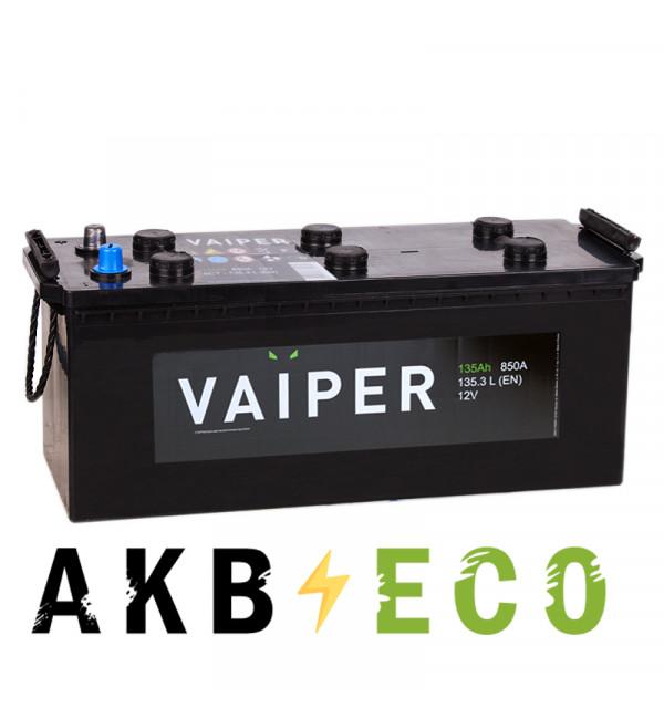 Грузовой аккумулятор Vaiper 135 евро 850А 513x189x223