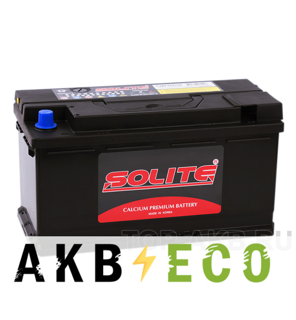 Автомобильный аккумулятор SOLITE 60038 (100R 800А 351x173x189)