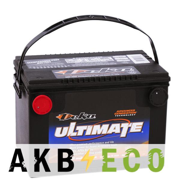 Автомобильный аккумулятор Deka 778MF 12V 85Ah (800A 260x180x184) боковые клеммы