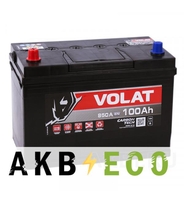 Автомобильный аккумулятор Volat Asia 100L (850A 306x173x225)