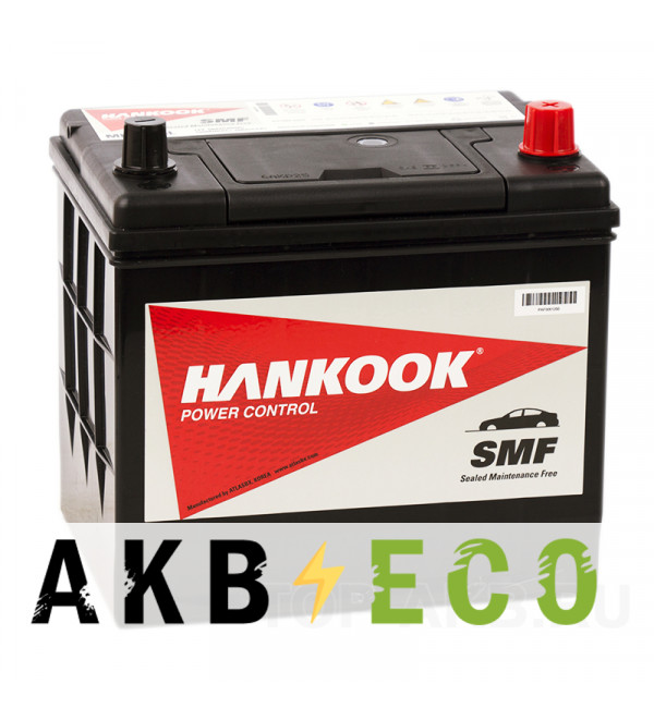 Автомобильный аккумулятор Hankook 85D23L (68R 600А 229х172х225)
