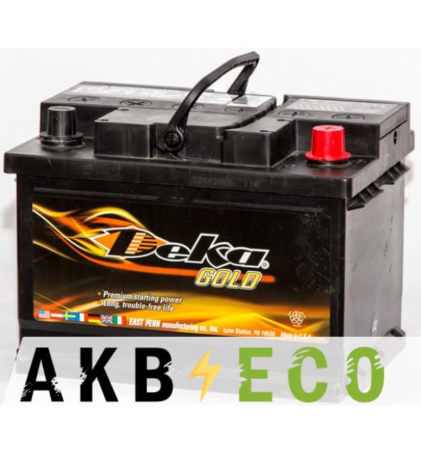 Автомобильный аккумулятор Deka 60R (690MF 600A 242x175x175)