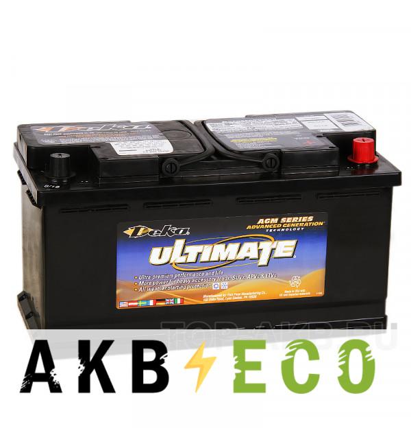 Автомобильный аккумулятор Deka AGM 92R (9AGM49 850A 353x175x190)