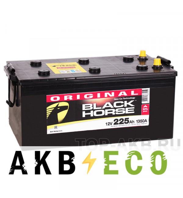 Автомобильный аккумулятор Black Horse 225 евро 1350A 518х273х240