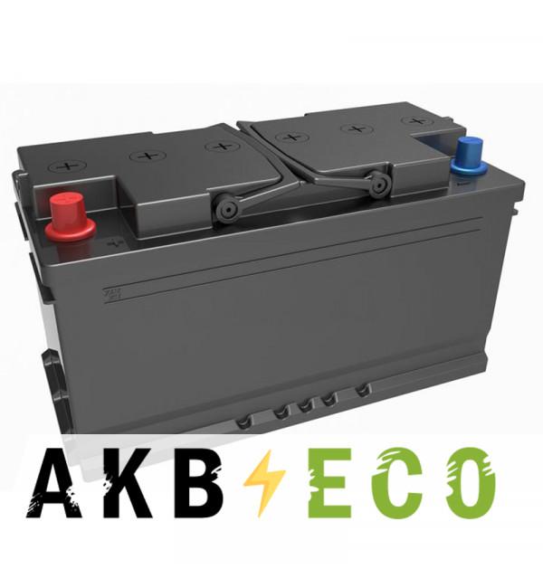 Автомобильный аккумулятор Подменный L5 прям. пол. (353x175x190) 90-100 Ач