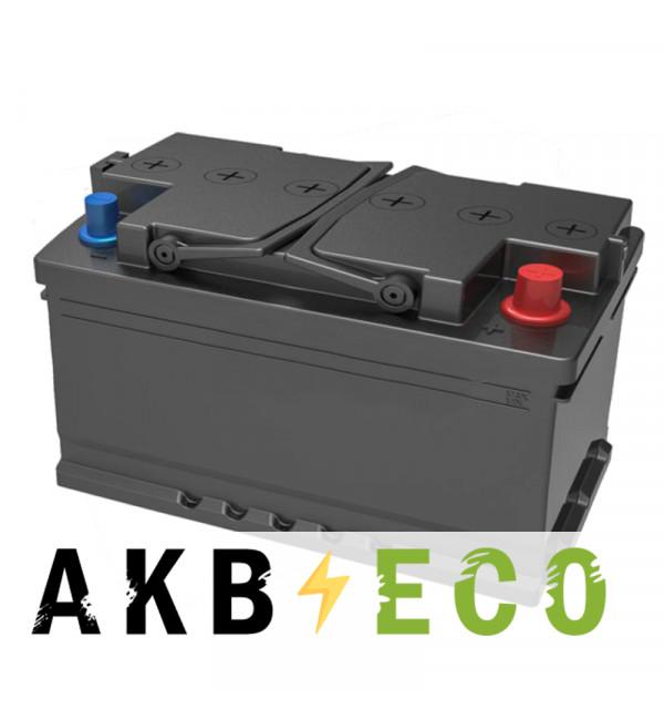 Автомобильный аккумулятор Подменный L4 обр. пол. (315x175x175) низкий 80-85 Ач