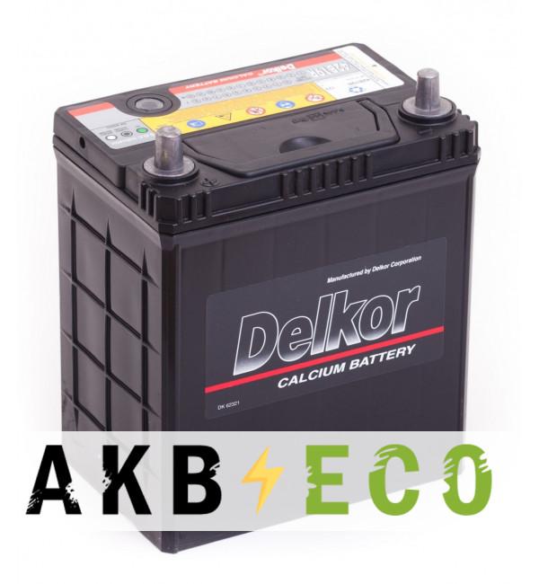 Автомобильный аккумулятор Delkor 42B19R (40L 340A 187x127x227)