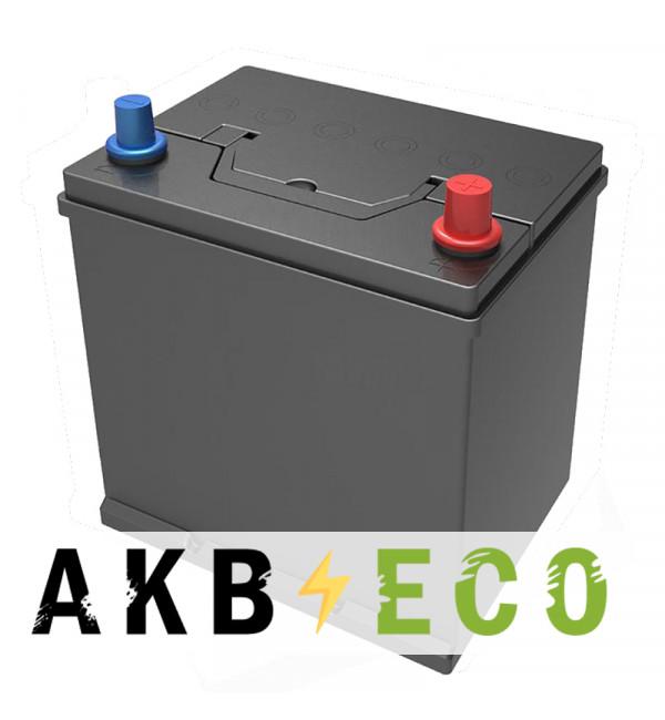 Автомобильный аккумулятор Подменный D20 обр. пол. (206x172x205) нижнее крепл. 45-50 Ач