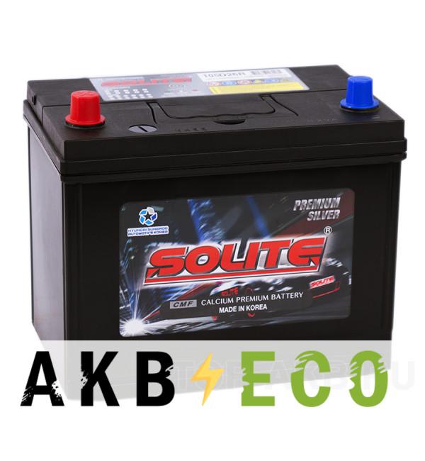 Автомобильный аккумулятор Solite Silver 105D26R с бортиком (95L 710A 260x175x225)