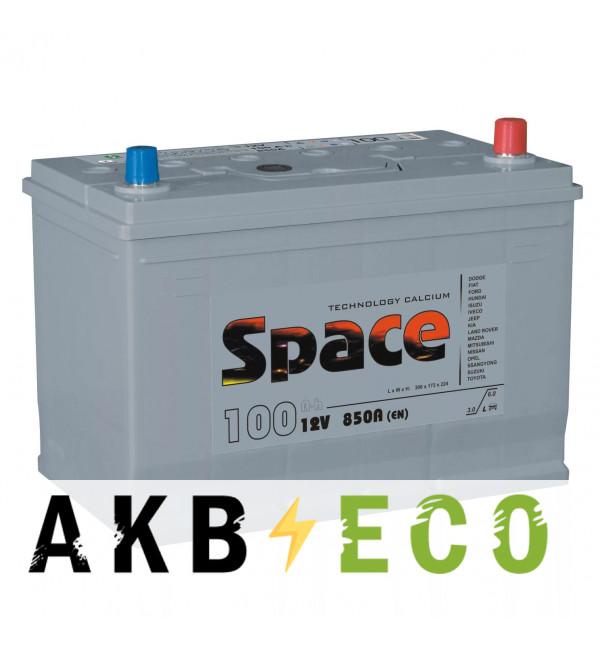 Автомобильный аккумулятор Space Asia 135D31L (110R 870A 306x173x225)