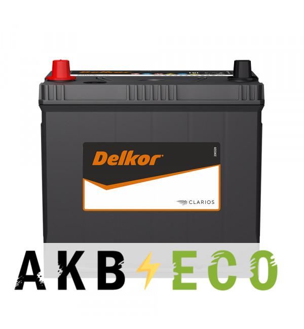Автомобильный аккумулятор Delkor 80D23R (68L 600A 232x173x225)