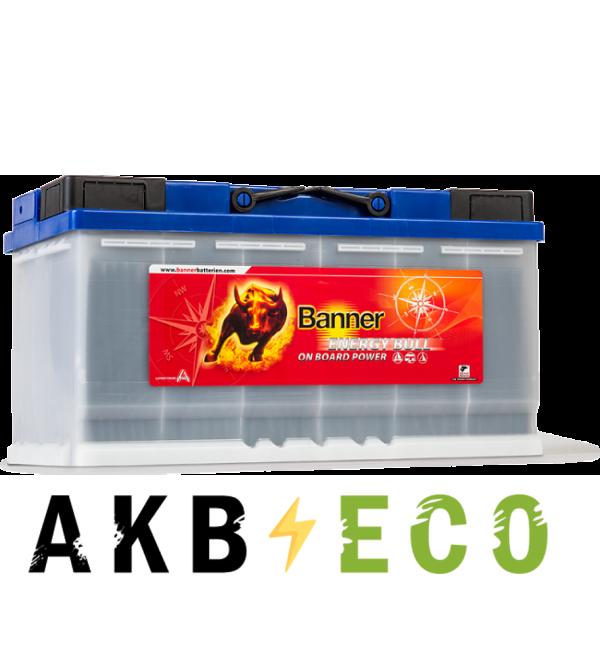 Автомобильный аккумулятор BANNER Energy Bull (957 51) 12V 100Ah 353x175x190